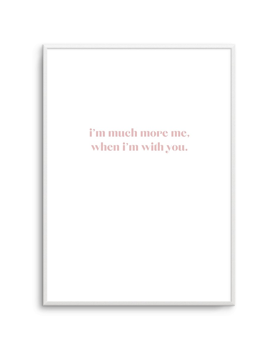 When I'm With You - Olive et Oriel | Shop Art Prints & Posters Online