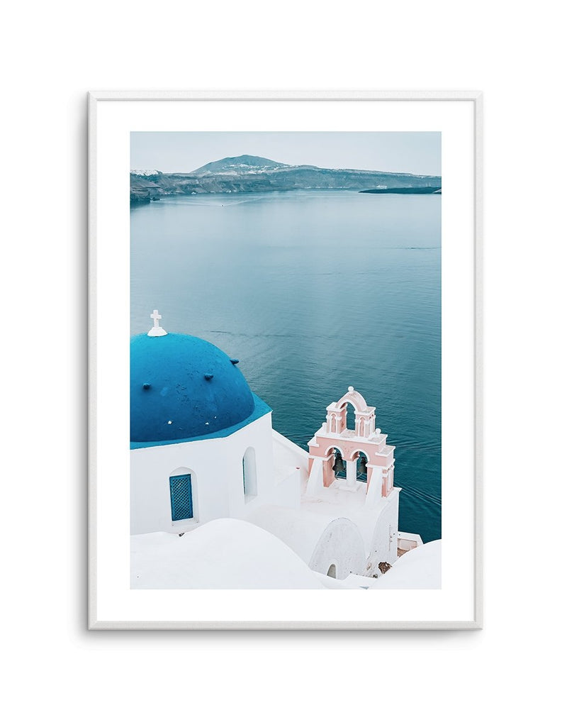 When In Santorini - Olive et Oriel | Shop Art Prints & Posters Online