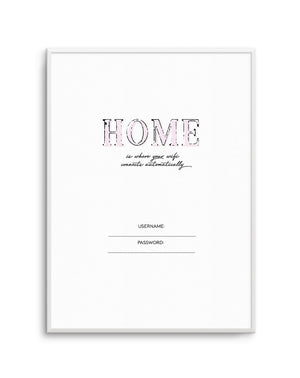 Wifi - Home Is... - Olive et Oriel | Shop Art Prints & Posters Online