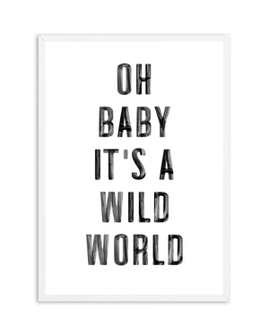 Wild World - Olive et Oriel | Shop Art Prints & Posters Online