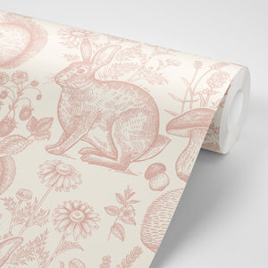 Woodland Folk Wallpaper - Olive et Oriel