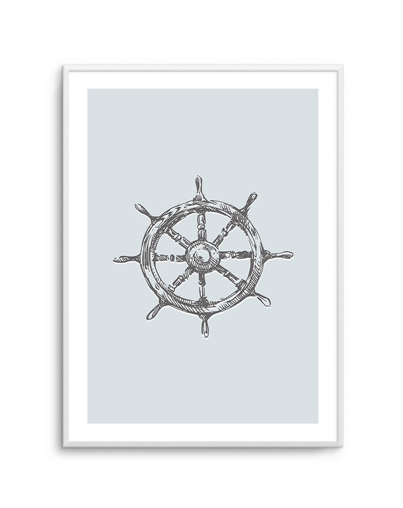Yacht Wheel | 2 Colour Options - Olive et Oriel