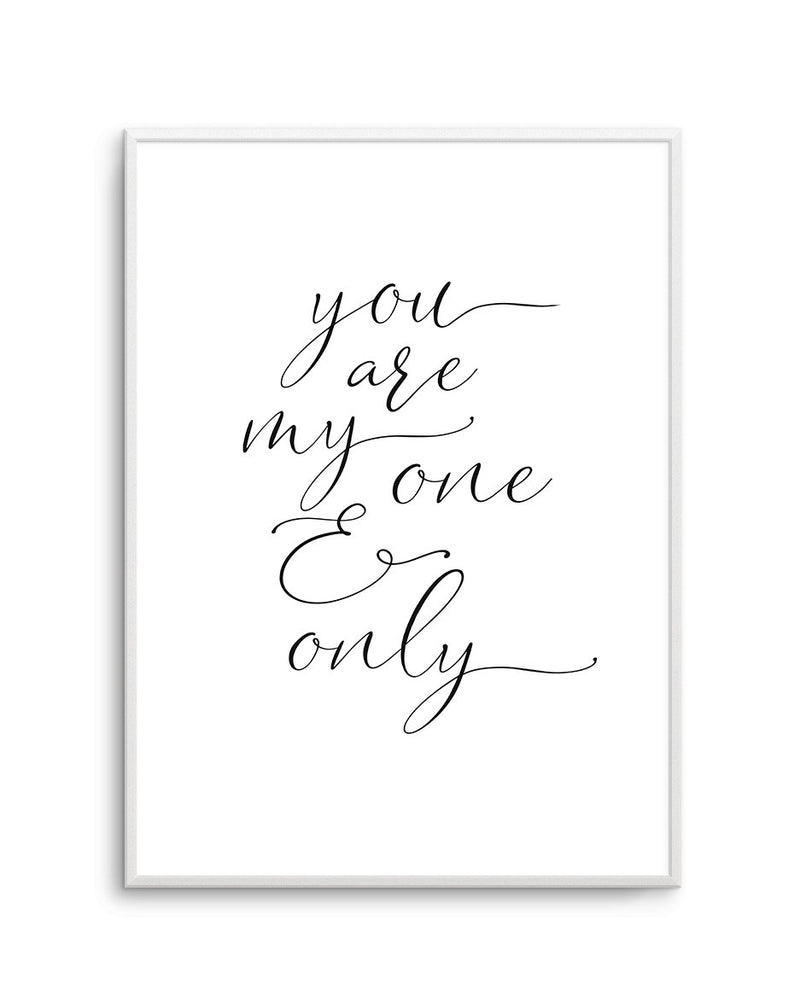 You Are My One & Only - Olive et Oriel