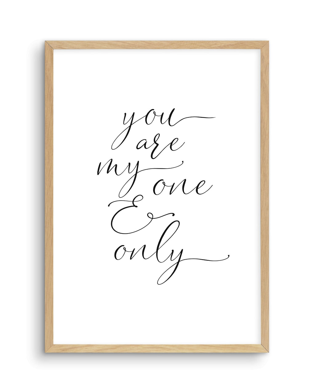 You Are My One & Only - Olive et Oriel | Shop Art Prints & Posters Online