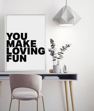 You Make Loving Fun - Olive et Oriel