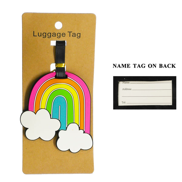 "Luggage Tag ""Rainbow"""