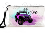 "Accessory/Essential Bag ""Jeep Go Topless"" Essentials"