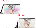 "Accessory/Essential Bag ""Boho Llama"" Pencil Bag, Essentials"