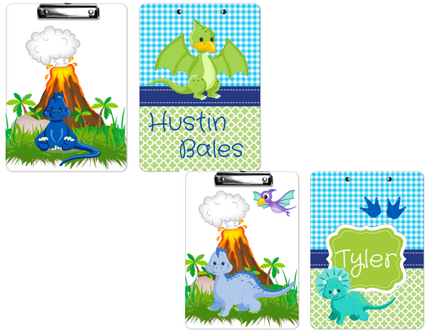 "Clipboard ""Dinosaurs"" Kids Personalized Clipboards,"