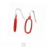 "Earrings ""Color Line Earring"" Asst Colors"