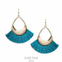 "Earrings ""Tassel Earring"" Asst Colors"