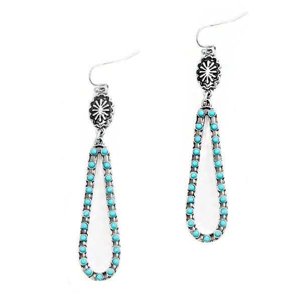 "Earrings ""Elongated Tear Drop Earring"""