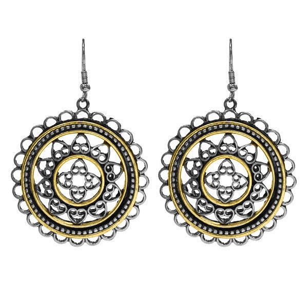 "Earrings ""Circle Filigree Earring"""