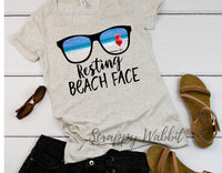 "T-Shirt ""Resting Beach Face"""