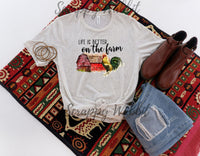 "T-Shirt ""Life On A Farm"""