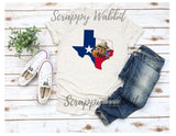 "T-Shirt ""Texas Lone Star State"""