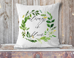 """Always In Bloom"" Pillow Cover"