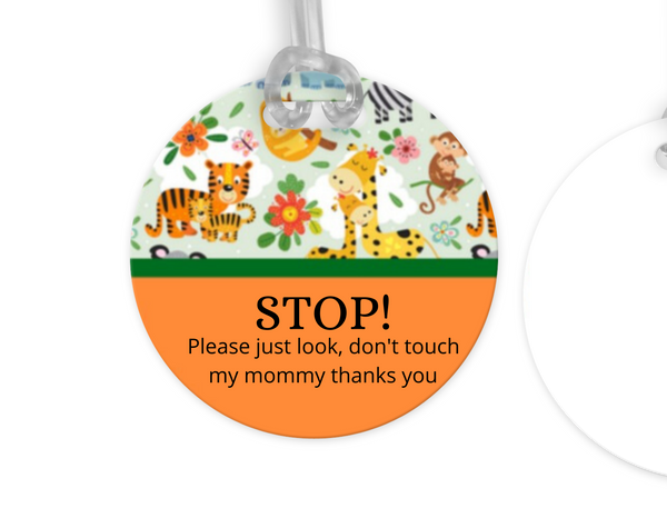 Zoo Animals, Personalized Stroller, Car-seat