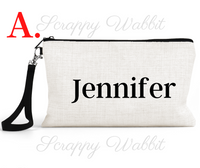 "Makeup/Accessory Bag ""Nurse Another Name For Hero"""