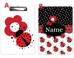 "Clipboard ""Lady Bugs"" Red and Black"
