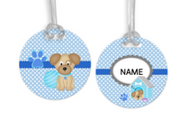 Dogs, Name Tags, Personalized, Kids,