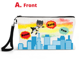 "Accessory/Essential Bag ""Super Heros"" Pencil Bag, Essentials"