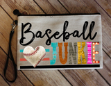 "Makeup/Accessory Bag ""Baseball Junkie"""