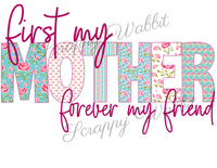 "T-Shirt ""First My Mother"""