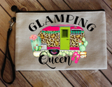 "Makeup/Accessory Bag ""Glamping Queen"""
