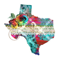 "Transfer ""Floral Texas"""