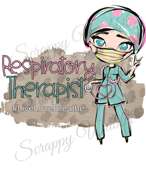"T-Shirt ""Medical Respiratory Therapist"""