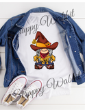 "T-Shirt ""Gnome Cowgirl"""