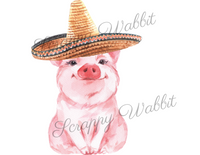 "Transfer ""Cinco de Mayo Pig"""