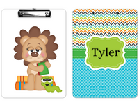"Clipboard ""Lion School"" Kids Personalized Clipboards,"