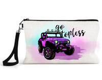 "Makeup/Accessory Bag ""Go Topless Jeep"""