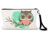 "Makeup/Accessory Bag ""Woodland Owl"""