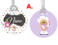 Cowgirls, Name Tags, Personalized, Kids,