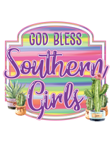 "T-Shirt ""God Bless Southern Girls"""