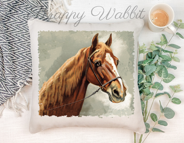 "Pillow Cover ""Horse"""