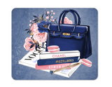 "Mousepad ""Vogue"" Shopping Handbags"