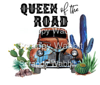 "T-Shirt ""Queen Of The Road"""