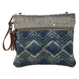 "Myra Bags ""Floto Blue Small & Crossbody Bag"""
