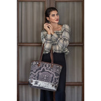 "Myra Bag ""Blue Eternity Tote Bag"""