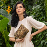 "Myra Bag ""Pouch Delight Canvas and Hairon Bag"""