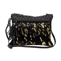 "Myra Bag ""Murky Leather and Hairon Bag"""