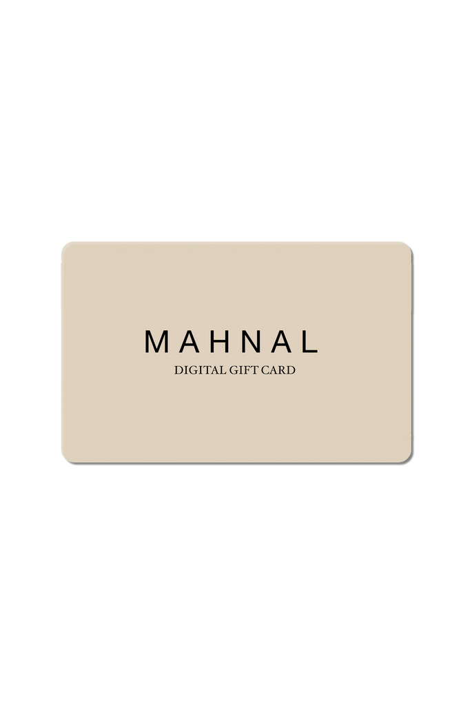 Modern Brass jewelry Gift Card from Mahnal modern jewelry or contemporary jewelry