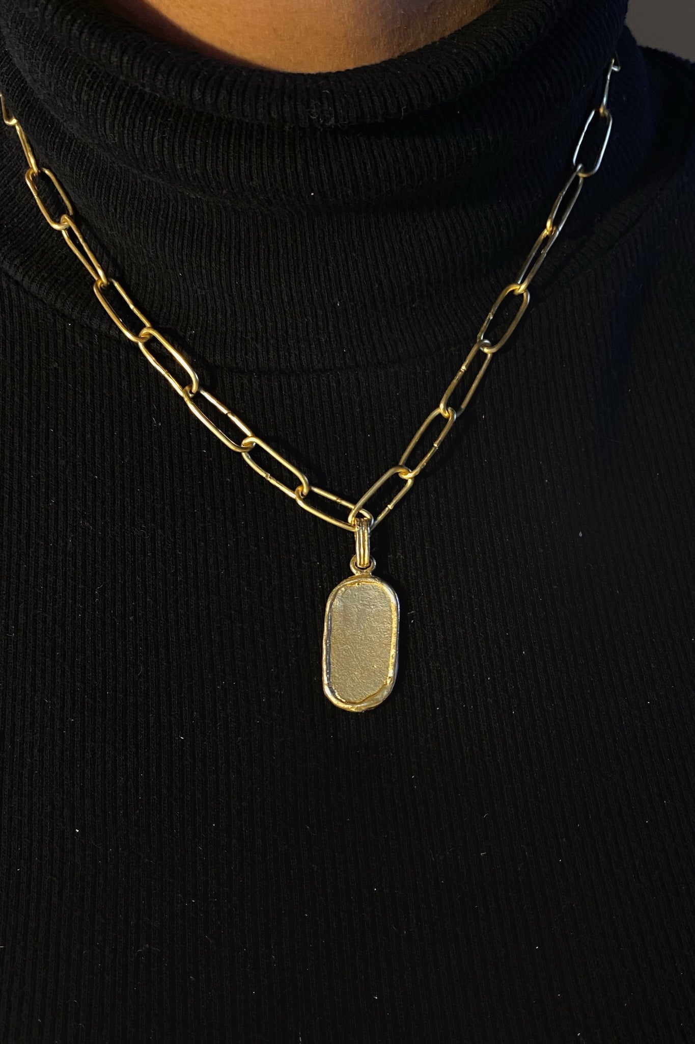 Maraya Talisman Necklace (Vertical)