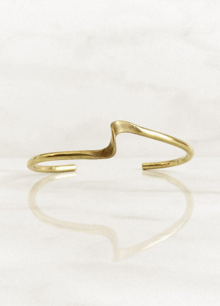 Ola Bangle - Mahnal Contemporary Brass Jewelry - Mahnal.com