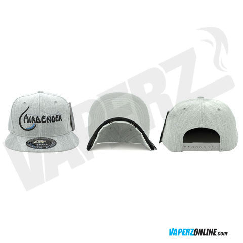 Airbender - Snapback Hat - Heather Grey