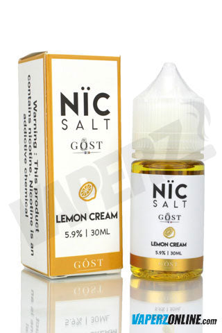 Gost Nic Salt - Lemon  Cream - 30ml